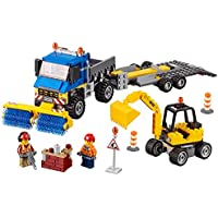LEGO City Great Vehicles Sweeper & Excavator 60152...
