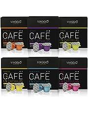 VIAGGIO ESPRESSO - 60 capsules de café compatibles avec Nespresso.