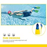 FINIS Long Floating Fins , Blue/Yellow, XS