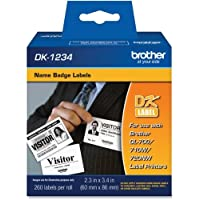 Brother DK1234 - Adhesive Name Badge Labels
