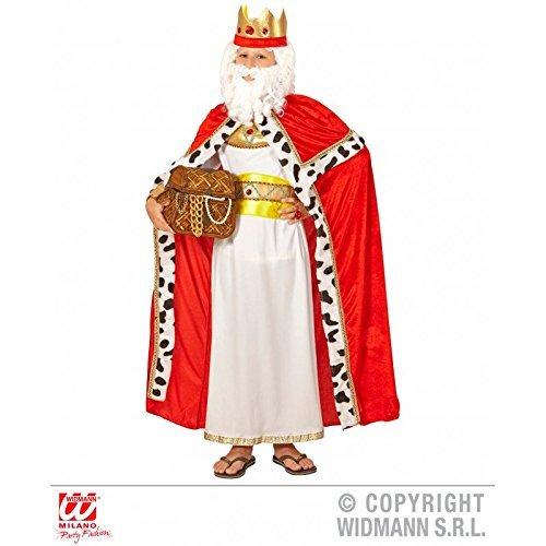Accessoire de costume roi Cape avec couronne royale pour pour pour enfants intérieur roi Cape Cape Cape Royal King Enfant Dimensione 140 (8–10 ans) 864517