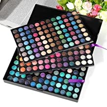 Professional Full 252 Color Makeup Cosmetic Shimmer Matte Eyeshadow Palette by Completestore
