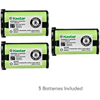 Kastar HHR-P513 Battery 3-Pack, Type 27 Replacement for Panasonic HHR-P513 HHR-P513A HHR-P513A1B HRR-P513A1B KX-TG2208 KX-TG2214W KX-TG2216 KX-TG2216SV KX-TG2224 KX-TG2224W KX-TG2226 KX-TG2226BV