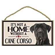 Imagine This Wood Sign for Cane Corso Dog Breeds