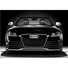 Bearfire Cool LED Emblem Logo Grid LED Badge Front Light For AUDI A1 A3 A4 A5 A6 A7 A8 (white)