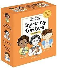Little People, BIG DREAMS: Inspiring Writers: 3 books from the best-selling series! Maya Angelou - Anne Frank - Jane Austen