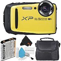 Fujifilm FinePix XP90 Yellow Waterproof Digital Camera...