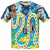 InterestPrint Youth T-Shirts Board Game Theme XS