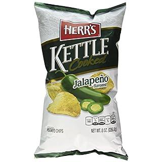 Herr's Jalapeno Kettle Chips, 8 Ounce