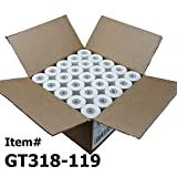 (50) 1ply Thermal Paper Rolls 3-1/8 X 119ft