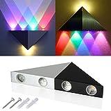 XCSOURCE 5W LED Wall Lamp RGB Colour Hallway Lamp Sconce Light Triangular For Bar Club LD525