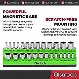 Olsa Tools Magnetic Socket Organizer | 1/4-inch