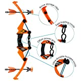 Zing Air Storm Z-Tek Bow - Orange - Toy Bow and