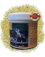 EMMA ♥ Crema di Zinco per Cavalli e Cani Unguento di Zinco I Unguento per la guarigione delle ferite I Cura della Pelle I Pasta di Zinco per irritazione cutanea, prurito, Eczema 250ml