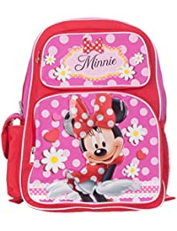Minnie Mouse Girl's Red/Pink Backpack School Bag BP-5247