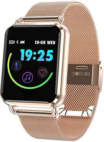 Smart Watch Color Touch Screen Pedometer Heart Rate Monitor Blood Pressure Activity Tracker Sleep Monitor Camera Bluetooth Sport Fitness Tracker