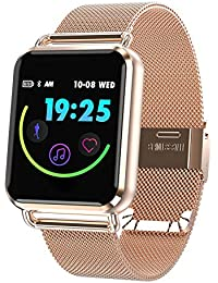 Smart Watch Color Touch Screen Pedometer Heart Rate Monitor Blood Pressure Activity Tracker Sleep Monitor Camera
