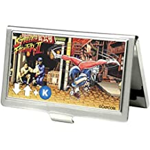 Street Fighter Ii Chun Li Spinning Bird Kick Fcg Business Card Holder SMALL
