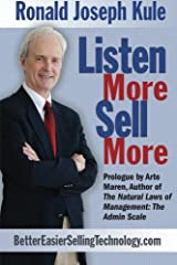 Listen More, Sell More Paperback