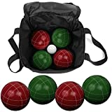 Trademark 8-751214 Games Full Size Premium Bocce Set with Easy Carry