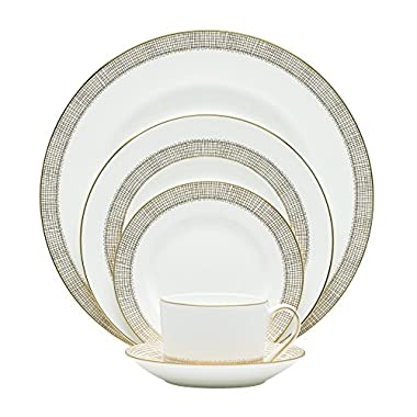 Wedgwood Vera Wang Gilded Weave 5-Piece Place Setting