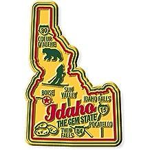 Premium State Map Magnet - Idaho