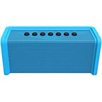 Ematic Bluetooth Wireless Speaker & Speakerphone for iPhone, iPad, iPod, Android, Tablets & Smartphones, Blue