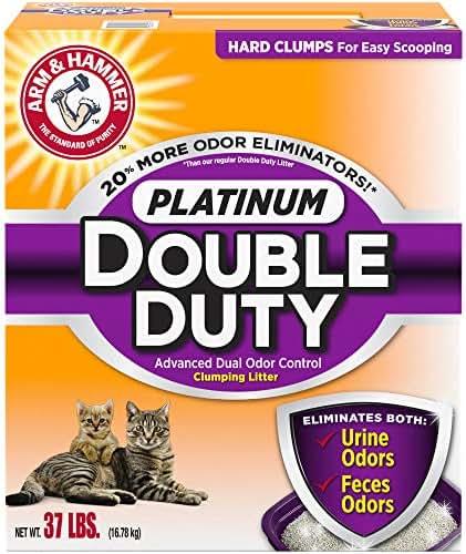 Cat Litter: Arm & Hammer Platinum Double Duty