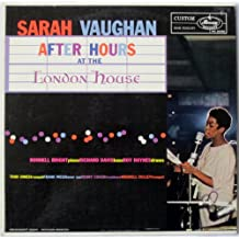 Sarah Vaughan: After Hours At the London House