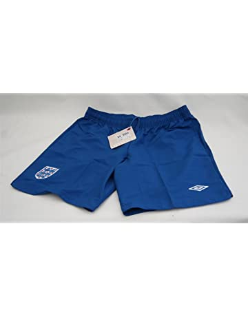 a99758751 Official Umbro England Kit- Home Women's Blue Football Match Shorts Uk Size  14 (Large
