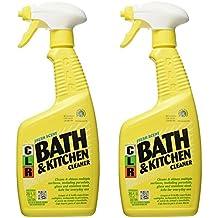 Jelmar Pb-Bk-2000 Clr Fresh Scent Bath And Kitchen Cleaner, 26 Oz Trigger Spray Bottle 2pack