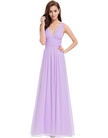 0679b04e1acd Ever-Pretty Sleeveless V-Neck Semi-Formal Maxi Evening Dress 09016