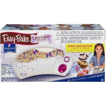Easy Bake Ultimate Oven, Baking Star Super Treat Edition with 3 Mixes. For ages 8 and up.