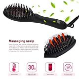 Hair Straightening Brush, ICOCO 3 in 1 MCH Heating