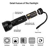 Escolite UV Flashlight Black Light, 51 LED 395 nM