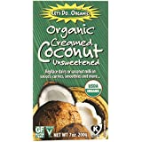 Let's Do ORGANIC Creamed Coconut, 7-Ounce Boxes (Pack of 6) 42 Ounce