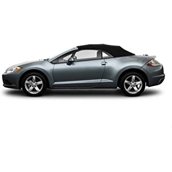 Mitsubishi Eclipse Spyder Convertible Top 2006 2011 In Cabrio Grain Vinyl  With Heated Glass Window