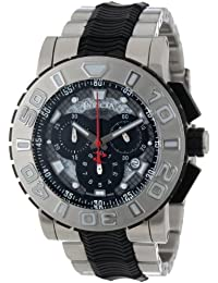Invicta Men's 6310 Reserve Collection Chronograph Stainless Steel and Black Rubber Watch