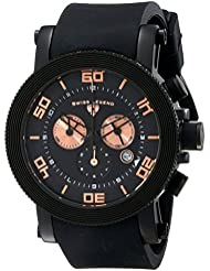 Swiss Legend Mens 30465-BB-01-RA Cyclone Analog Display Swiss Quartz Black Watch