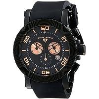 Swiss Legend Men's 30465-BB-01-RA Cyclone Analog Display Swiss Quartz Black Watch