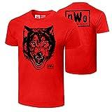 WWE Authentic Wear NWO Wolfpac Wolf T-Shirt Black