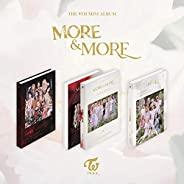 K-POP Twice - More and More, 9th Mini Album, Random Cover incl. CD, 88pg Photobook, More Postcard, Coaster Car