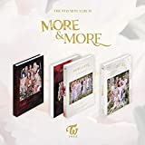K-POP Twice - More and More, 9th Mini Album, Random Cover incl. CD, 88pg Photobook, More Postcard, Coaster Card, Photocards, Pre-Order Benefit, Folded Poster, Extra Photocards