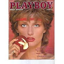 Playboy (édition française) -N°9 / Septembre 1981: Jack Lang -Les restaurants et la nuit à New-York -Françoise Sagan -Bo Derek.