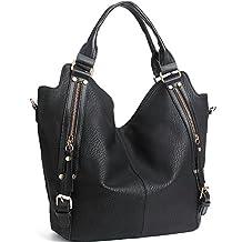 JOYSON Women Handbags Hobo Shoulder Bas Tote PU Leather Handbags Fashion Large Capacity Bags