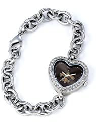 NFL Womens FH-NO Heart Collection New Orleans Saints Watch