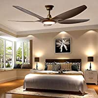 TiptonLight Ultra-thin 62 Inch Ceiling Fan Light Large-scale Living Room Dining Room Simple Low-floor Fan Light Frequency Fan Large Ceiling Fan Chandelier