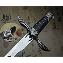 """S0094 UBISOFT GAME ANTIQUE SILVER ASSASSINS CREED EAGLE WING SWORD OF ALTAIR 38"""""""