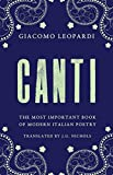 Canti: The Most Important Book of Modern Italian