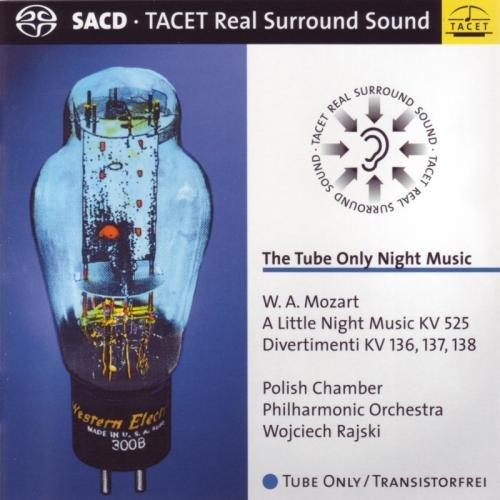 SACD : Wojciech Rajski - Tube Only Night Music: A Little Night Music (Hybrid SACD)